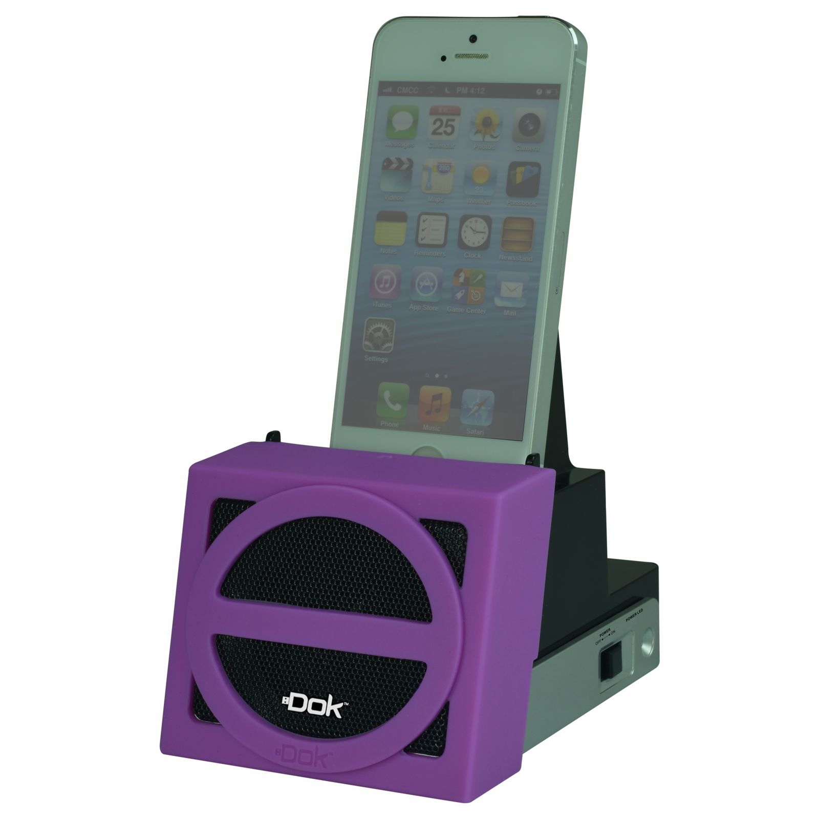 CR11PU - Speaker Cradle with Rechargeable Battery (Purple Face)