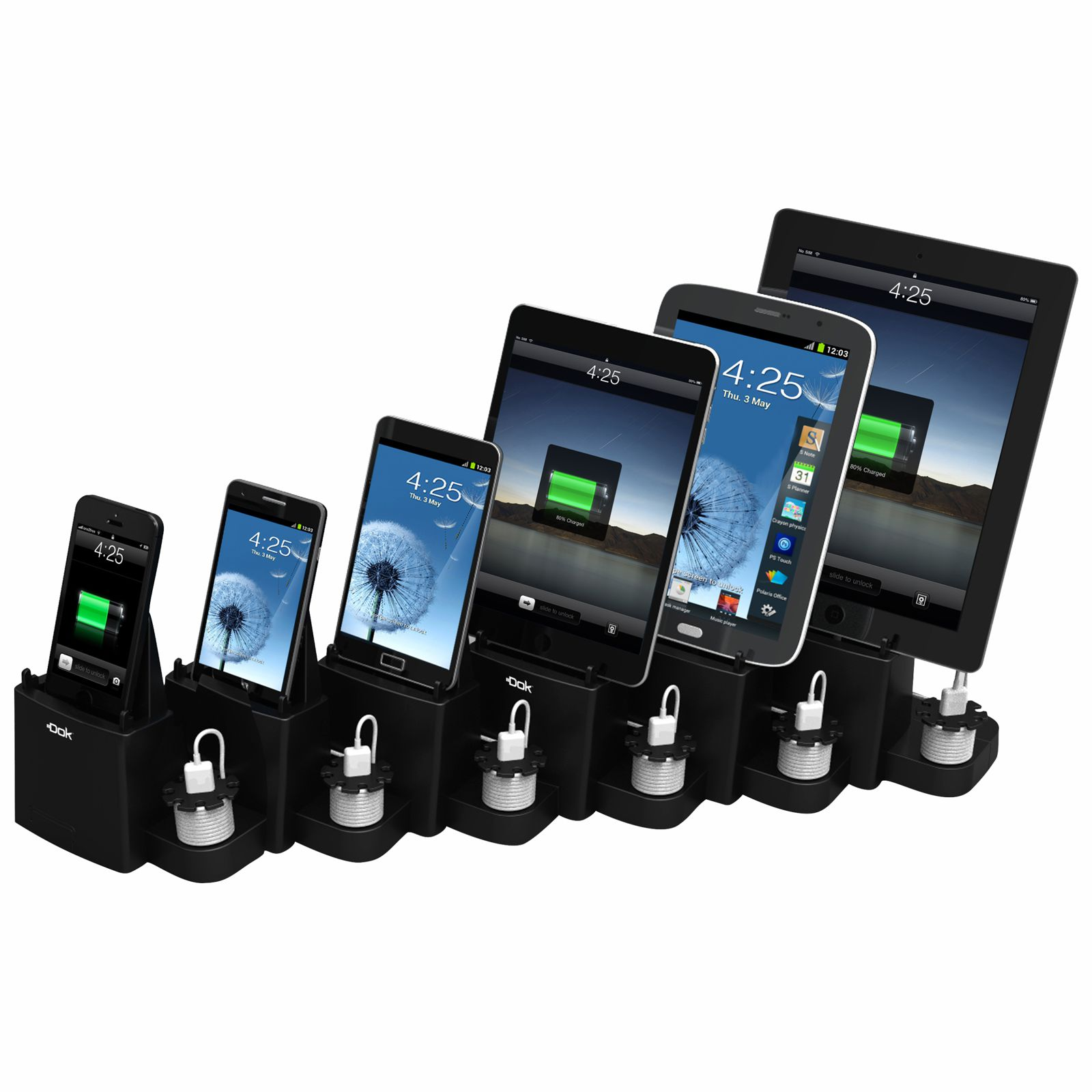 CR60 - 6 Port Smart Phone Charger