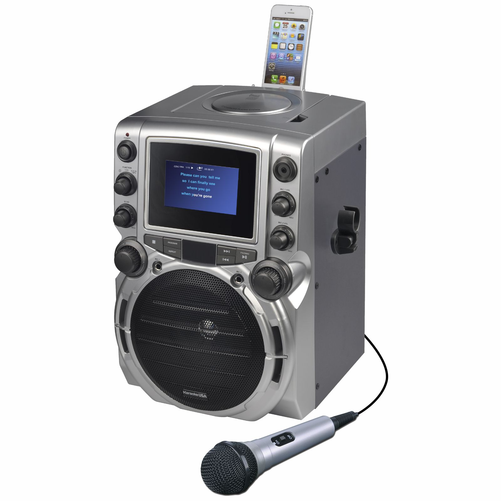 GQ743 - CDG Karaoke Machine with 4.3