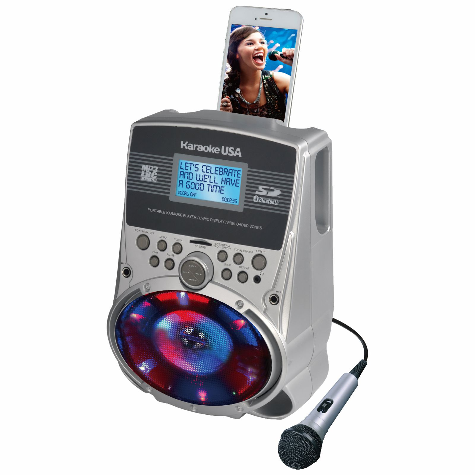 SD517 - Portable Karaoke MP3 Lyric Player with 3.2