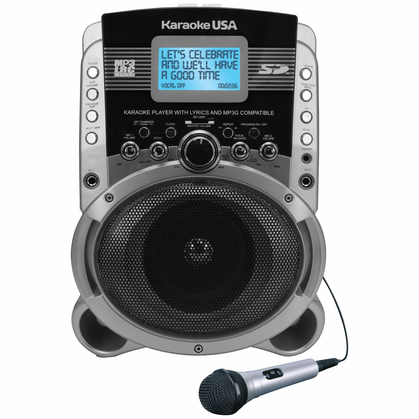 SD519 - Portable Karaoke MP3+G Player with Video Output
