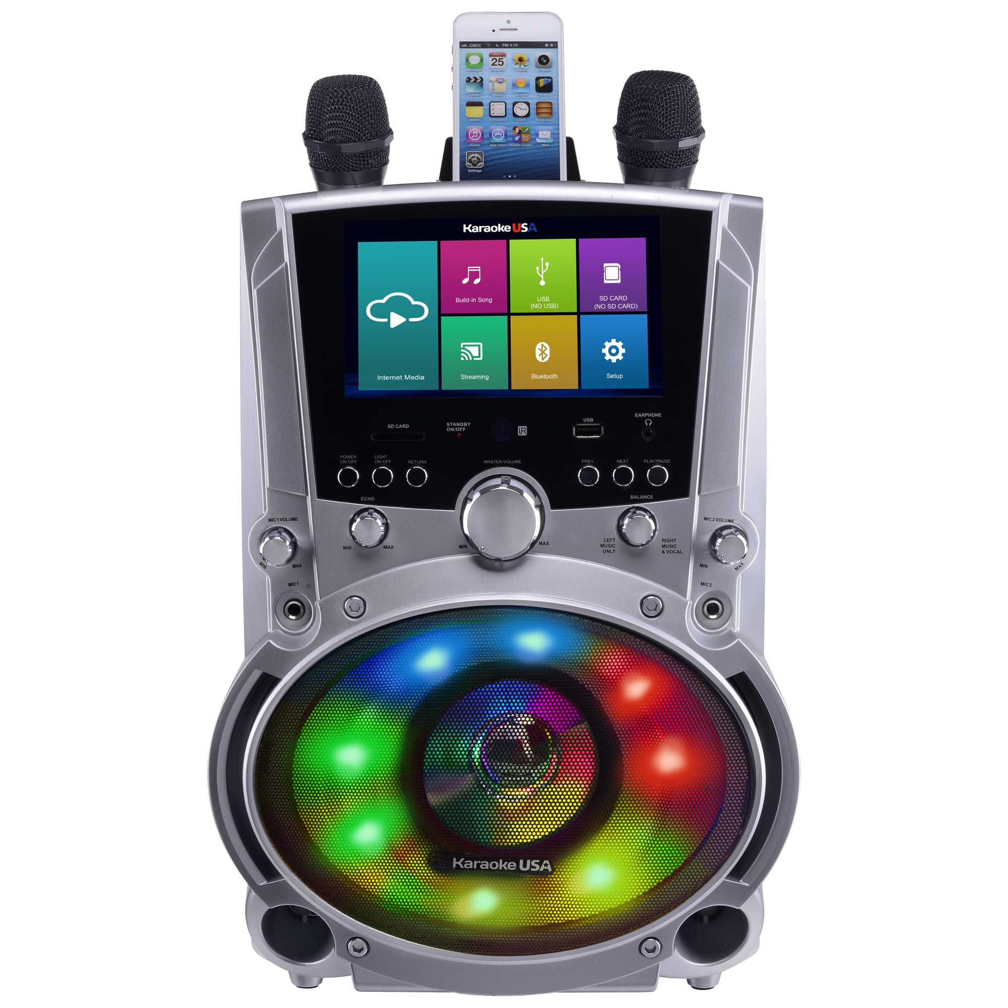WK760 - All-In-One Wi-Fi Multimedia Karaoke System With 7