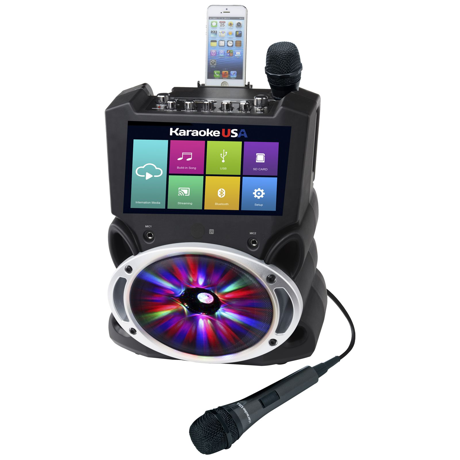 WK849 - All-In-One Wi-Fi Multimedia Karaoke System With 9