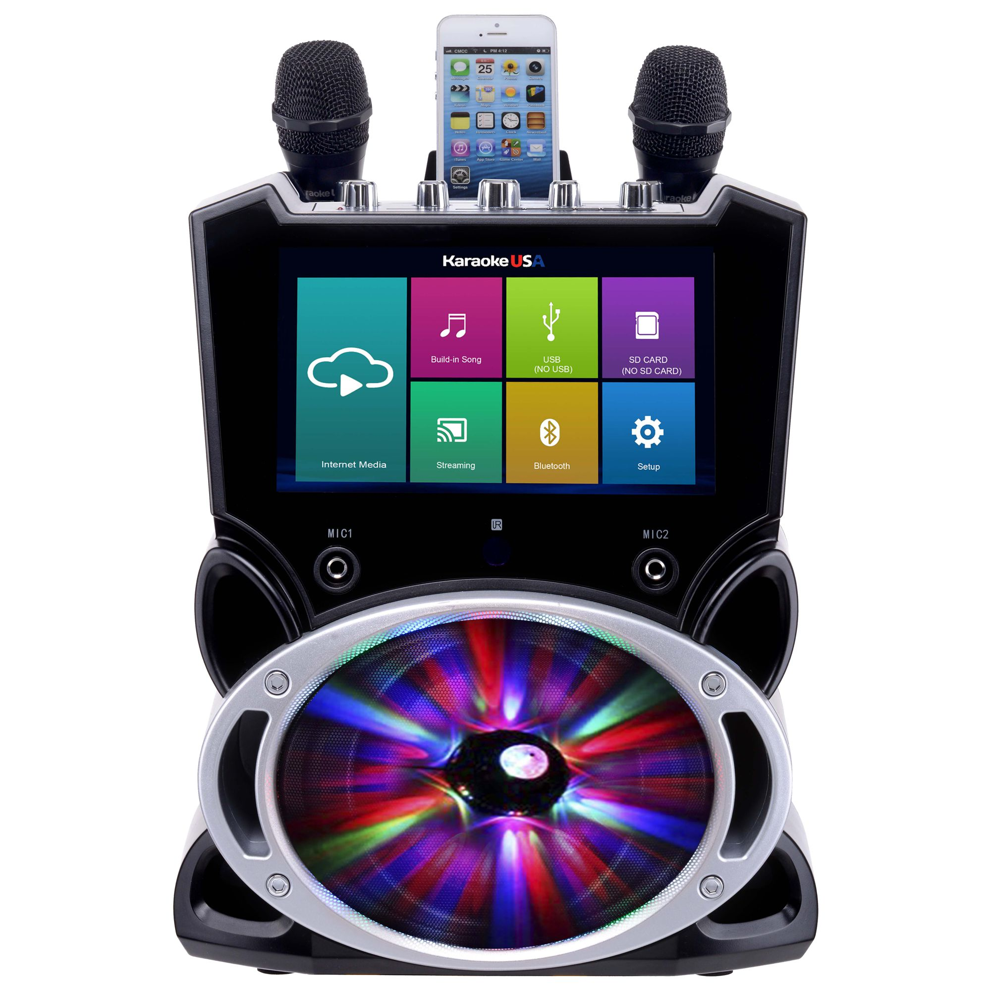 WK849 - Complete Wi-Fi Bluetooth Karaoke Machine with 9