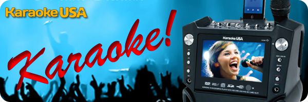 Karaoke USA singing equipment